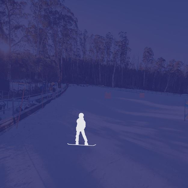 Picture of Snowboard 1 person private lesson