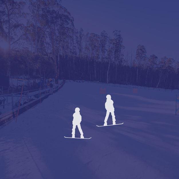 Picture of Snowboard 2 Person Private Lesson