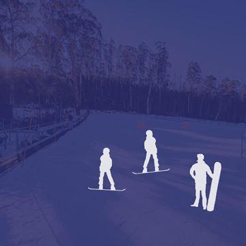 Picture of Snowboard 3 Person Private Lesson