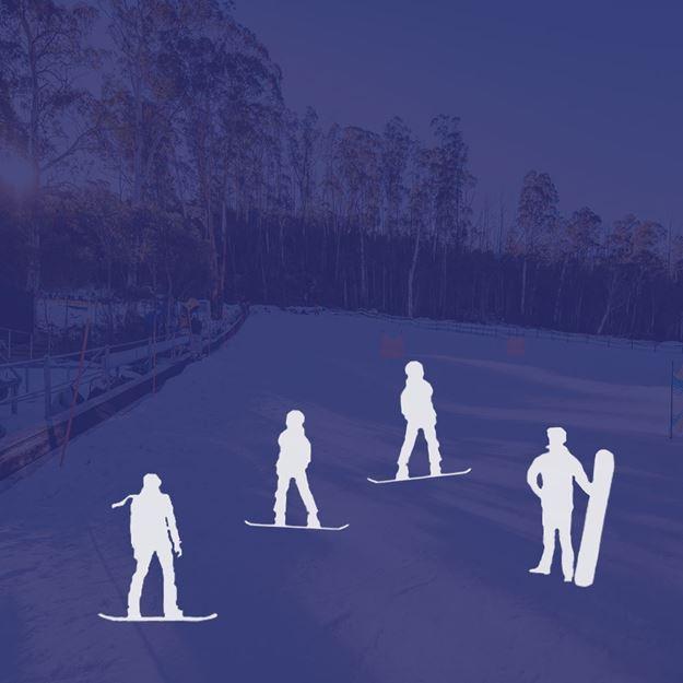 Picture of Snowboard 4 Person Private Lesson